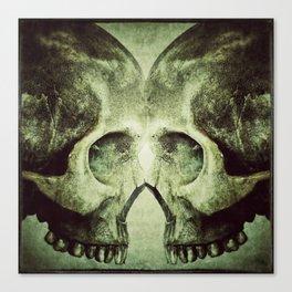 Skull to Skull Canvas Print