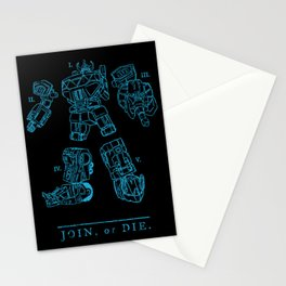 It's Morphin' Time Stationery Cards