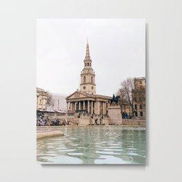 London Trafalgar Square Metal Print