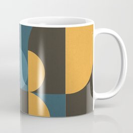 Information & Statement Geometric Coffee Mug