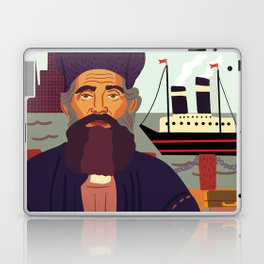 Land of Liberty, The Immigrant Laptop & iPad Skin