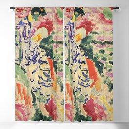 La Japonaise Woman beside the Water by Henri Matisse Blackout Curtain
