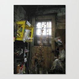 Forgotten Doorway Canvas Print