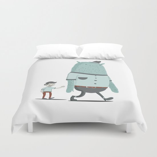New Best Friend Duvet Cover