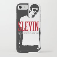 scarface iPhone & iPod Cases featuring Lucky Scarface Slevin. by Agu Luque