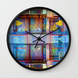 Akin to recalling, instead; understood mimicry. 17 Wall Clock
