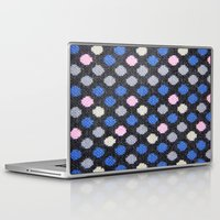 polka dots Laptop & iPad Skins featuring Polka Dots  by MyLove4Art