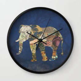 Elephant - The Memories of an Elephant Wall Clock