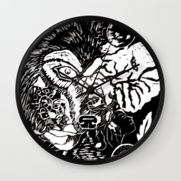 Narratives Wall Clock