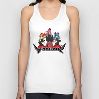vocaloid Tank Tops featuring Vocaloid / Babymetal by Tigers and Daises (LadyBeemer)