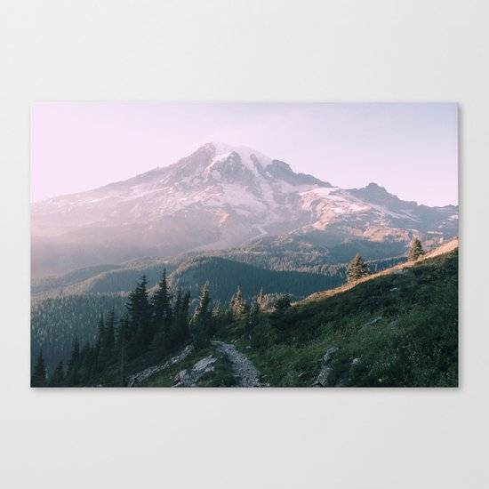Mt. Rainier National Park Canvas Print