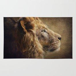The Lion Portrait Rug