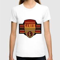 gamer T-shirts featuring GAMER by Robleedesigns