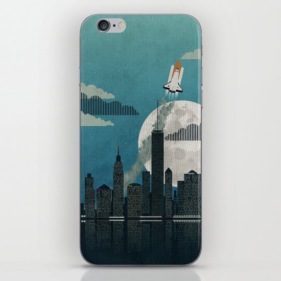 Rocket City iPhone & iPod Skin