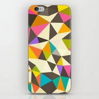mod iPhone & iPod Skins featuring Mod Tris by Beth Thompson