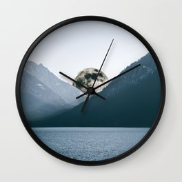 Nestled In Wall Clock