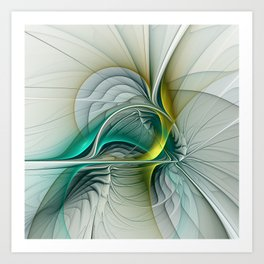 Fractal Evolution, Abstract Art Graphic Art Print