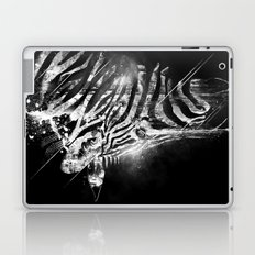 Zebra Mood - White Laptop & iPad Skin