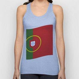 portugal flag Unisex Tank Top