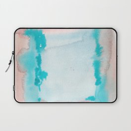 180815 Watercolor Rothko Inspired 9| Colorful Abstract | Modern Watercolor Art Laptop Sleeve