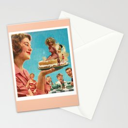 Summer Cake Stationery Cards