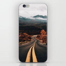 Road to Valley of Fire iPhone Skin