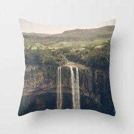 Waterfall 03 Throw Pillow