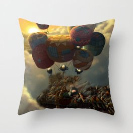 Way Up High Throw Pillow