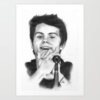 stiles Art Prints featuring Stiles by LilKure