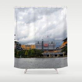 Pittsburgh Tour Series - Heinz Field Shower Curtain