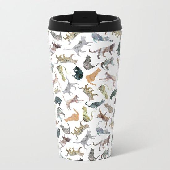 Nature Cats Metal Travel Mug
