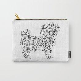Shih Poo Shih Tzu Wall Art Shitzu Sticker Shihtzu Art Carry-All Pouch