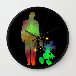 we can make magics together Wall Clock