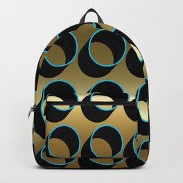 Tubes on Gold Backpack
