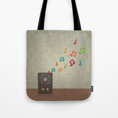Speak To Me With Music Tote Bag