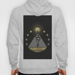 The Volcan by Night Hoody