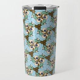 Salut José, c'est Yvon tessellation Travel Mug