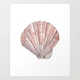 Seashell #3 Art Print