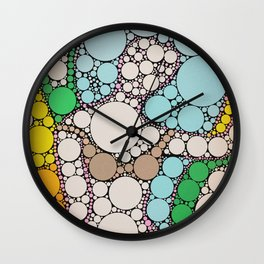 belly dance in circles Wall Clock