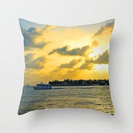 See you at Sunset! Throw Pillow