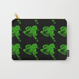 Gotcha - Green on Black Carry-All Pouch