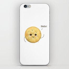 Super Cute Realistic Cracker Kawaii (Clever huh?) :p iPhone Skin