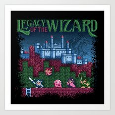 Wizard of the Legacy Art Print