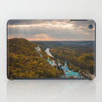 ukraine iPad Cases featuring Holy Mountains Monastery (Ukraine)  by Limitless Design