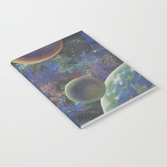 Galaxy. Order in chaos. Notebook