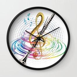 G Melody Clarinet Wall Clock