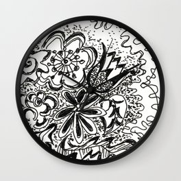Spring Bouquet by Christiane Wall Clock