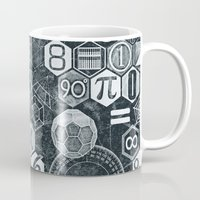 math Mugs featuring Math Class by Chicca Besso