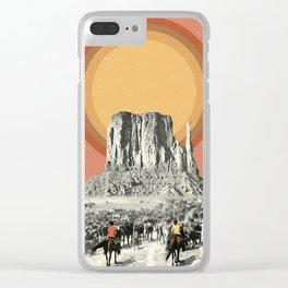 Herd Clear iPhone Case