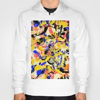 fight Hoodies featuring Fight by Larionov Aleksey